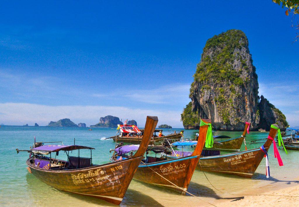 Phra Nang beach - Krabi, Thajsko