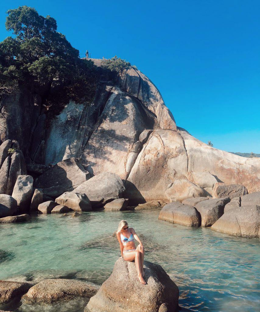 Nadherne utesy, Koh Samui, Thajsko