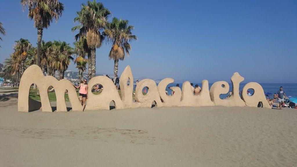 Malaga, Malagueta beach