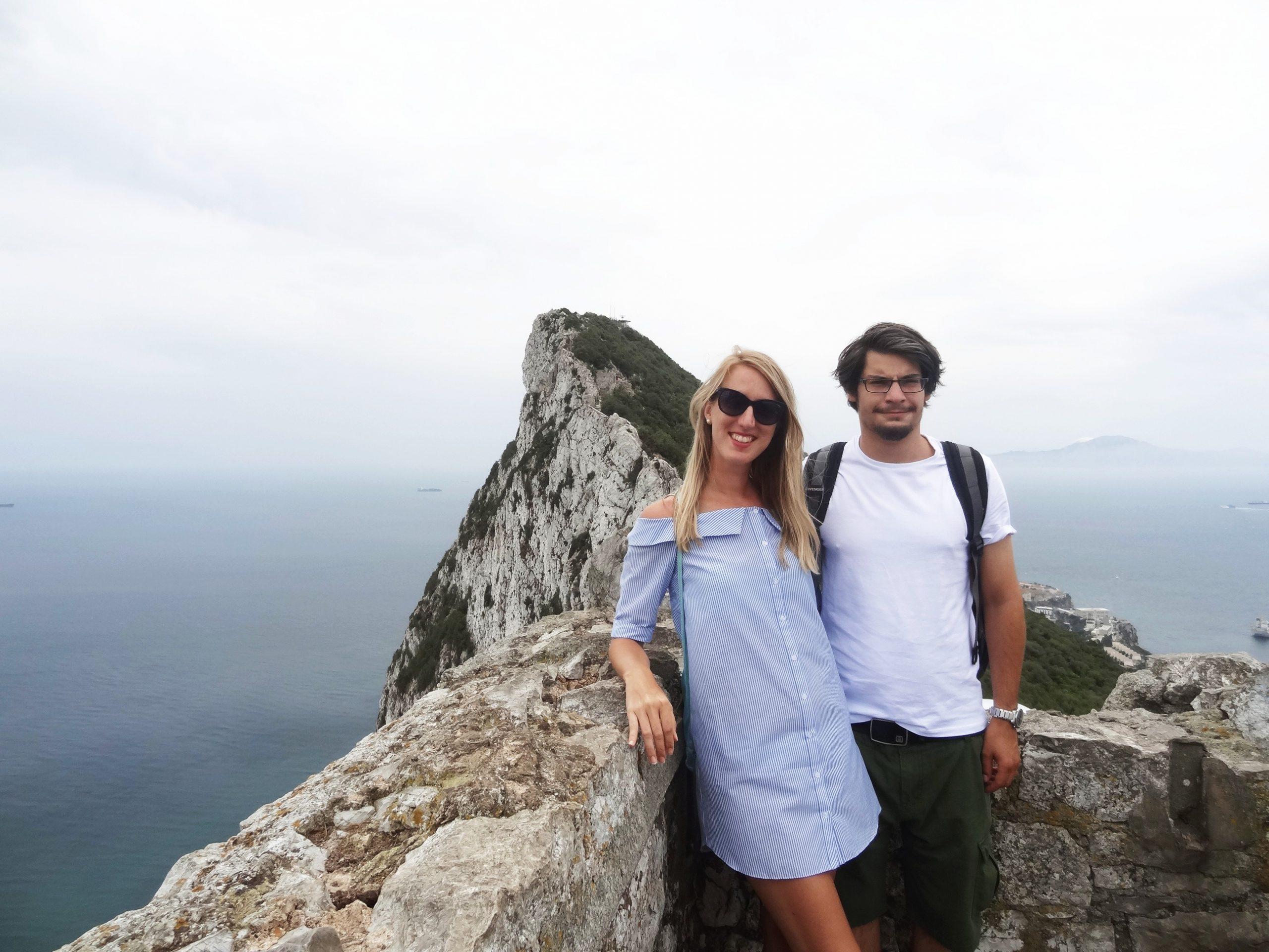 Gibraltár, kúsok Británie na juhu Španielska