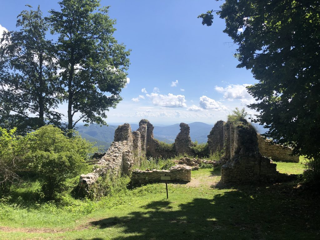 Hrad Muráň, Muránska Planina