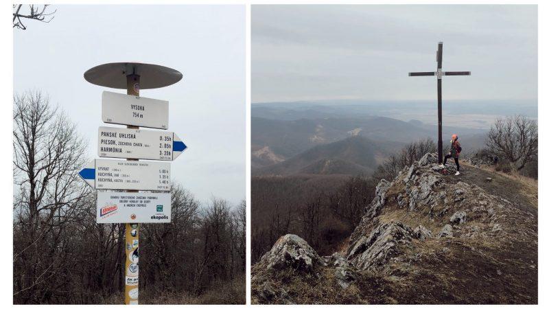 Vysoká, druhý najvyšší vrch Malých Karpát