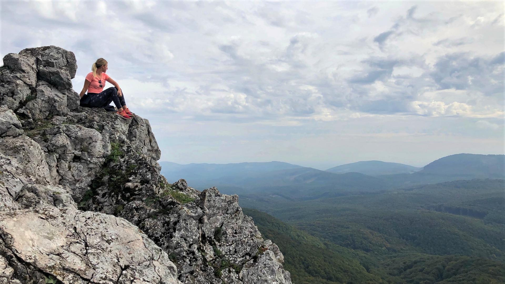 Vápenná, kopec s najkrajším výhľadom v Karpatoch